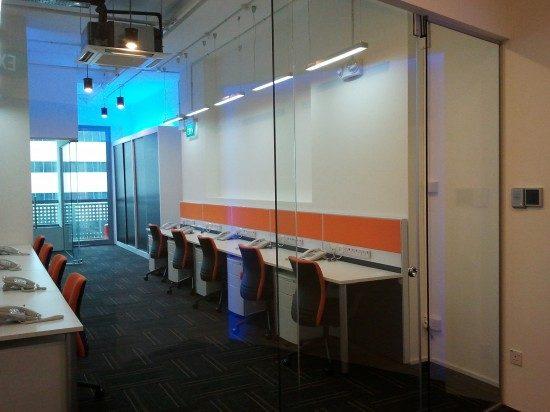 trendy new office design Singapore