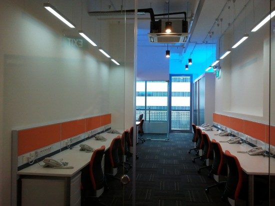new office design Singapore