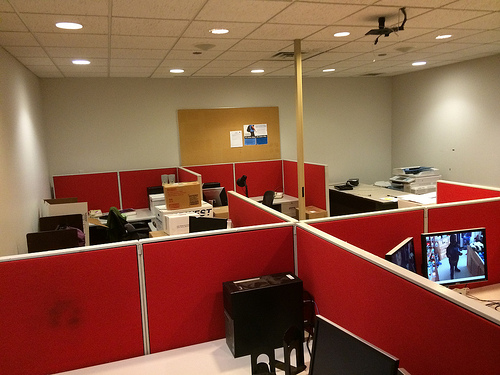 New Staff Space In Former Computer Lab
