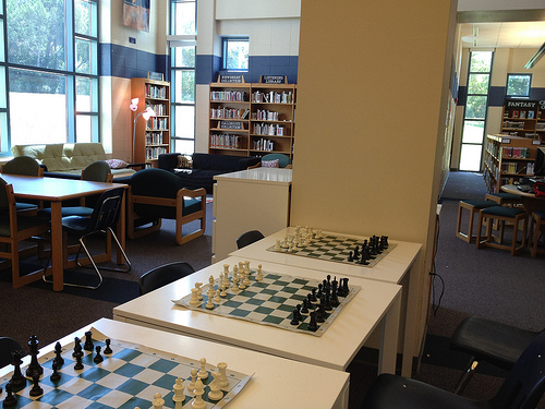 Library Gaming Area