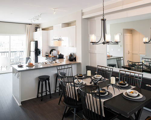 Red Maple Park - Kitchen/Dining Area