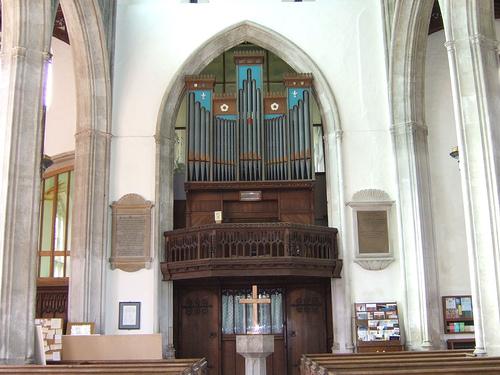 The Church Of St Mary Burwell Cambridgeshire