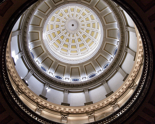 State Captitol Of Colorado ~ Denver Colorado ~  Interior Of Dome ~ Historic