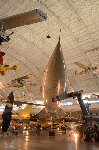 Steven F. Udvar-Hazy Center: Air France Concorde (nose)