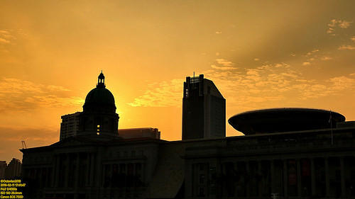 Historical Golden Hour Silhouettes..