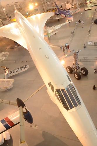 Steven F. Udvar-Hazy Center: Air France Concorde (long Profile From Above)