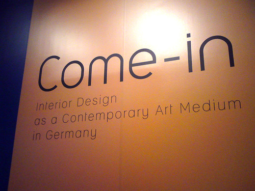Come-in: Interior Design As A Contemporary Art Medium In Germany