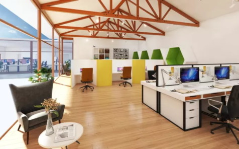 3D Design Visuals | Trendy Office Design Singapore | office renovation contractor Singaopre |INDesign Marketing Services
