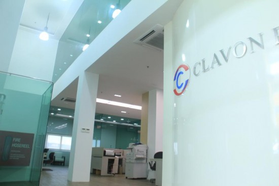 Clavon | Trendy Office Design Singapore | office renovation contractor Singaopre |INDesign Marketing Services