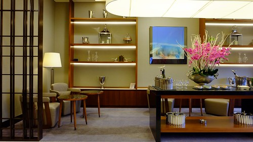 SilverKris First Class Lounge At T2B LHR Airport - Singapore Airlines