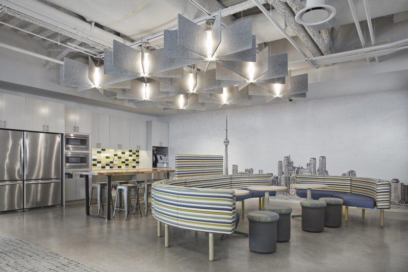 A Look Inside HarperCollins' Modern Toronto Office