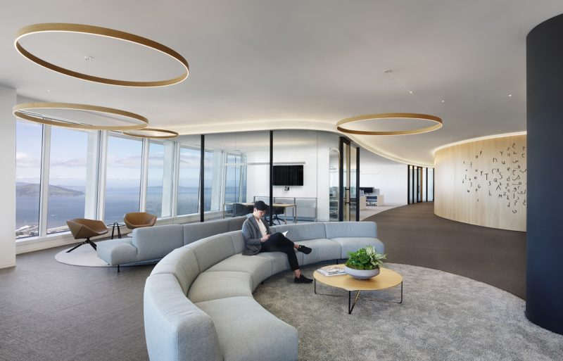 A Look Inside Salesforce Tower Office Space In San Francisco