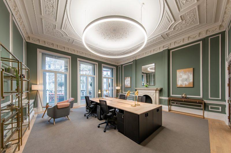 A Tour Of 22 Grosvenor Gardens' New London Office