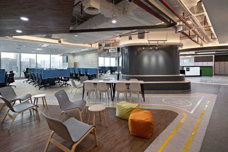 A Look Inside Uber's Modern Jakarta Office