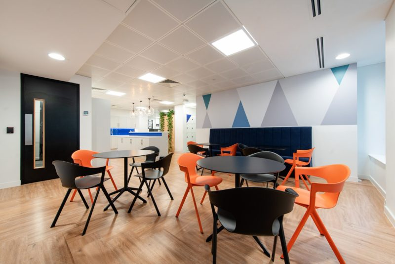 A Look Inside Financial Services Company Offices In London