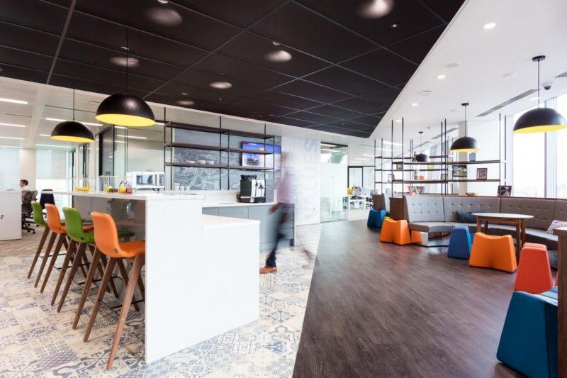 A Peek Inside Motorola Solutions' Modern London Office