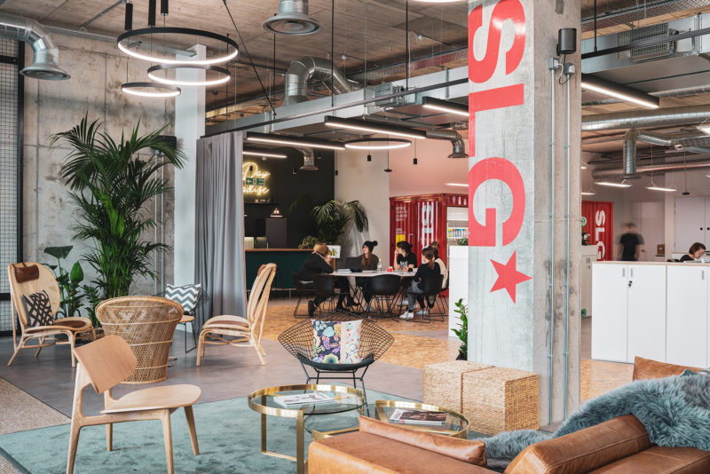 A Look Inside SLG's Eclectic New Cheltenham Office