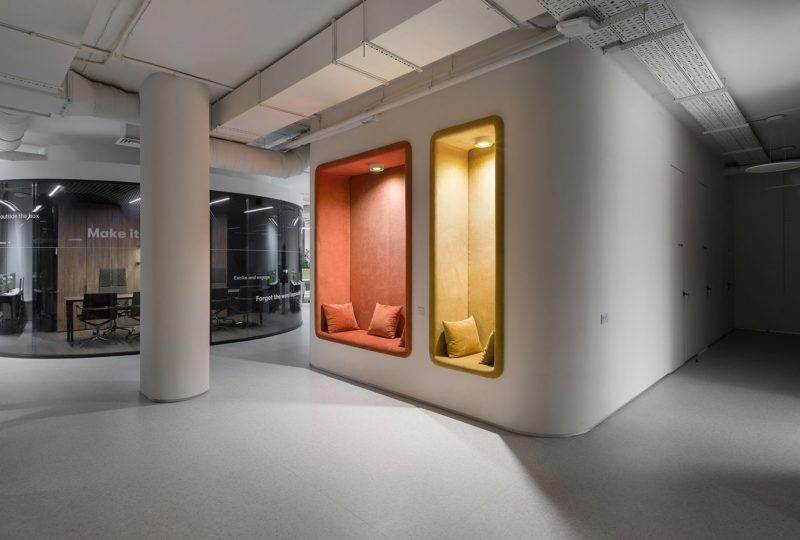 Inside The New Offices Of Biosphere In Kiev