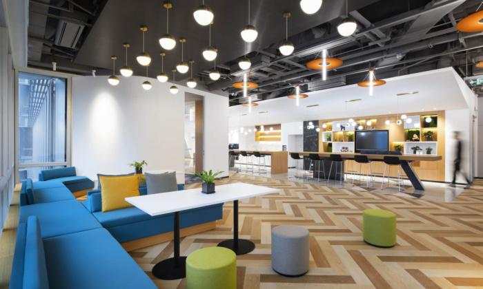 Capitaland Coworking Offices – Shanghai