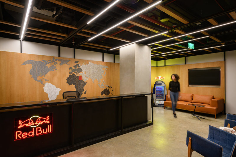 A Tour Of Red Bull's Cool New Cairo Office