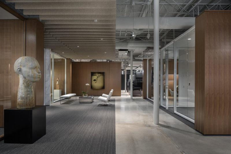 Inside Private Design Company Offices In Atlanta