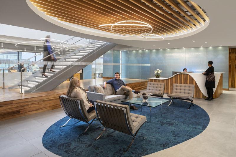 A Look Inside FactSet's Sleek New Norwalk Office