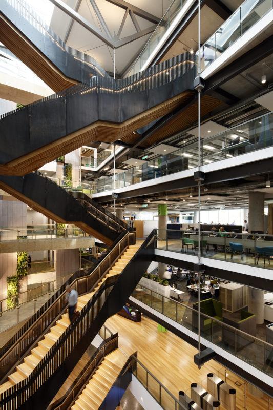 A Look Inside Fonterra's Modern Auckland Headquarters