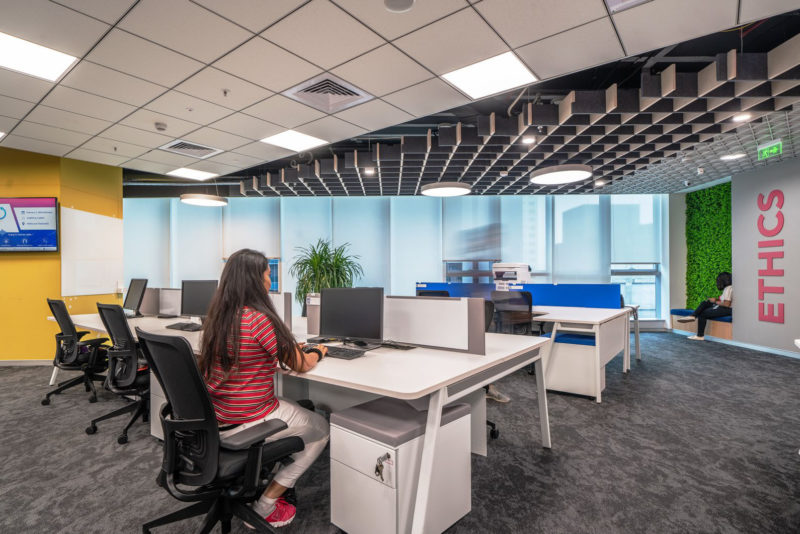 Inside The New Offices Of Private Elevator Company In Hyderabad