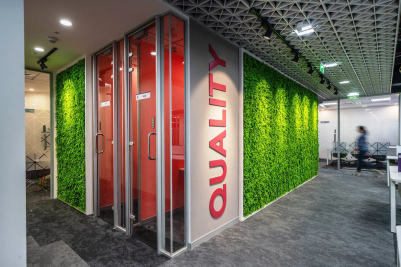 Inside The New Offices Of Otis In Hyderabad