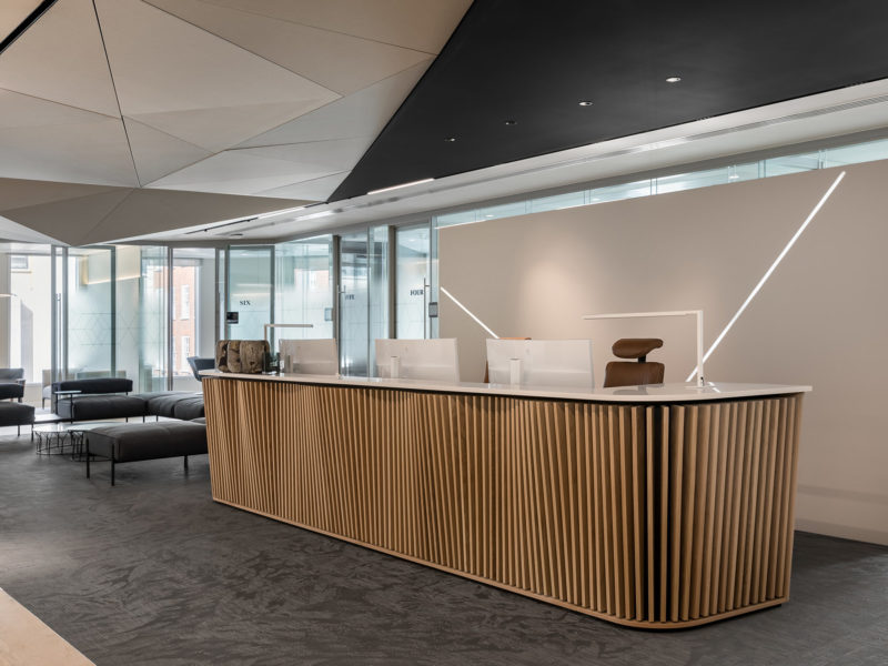 A Look Inside Private Financial Company Offices In London