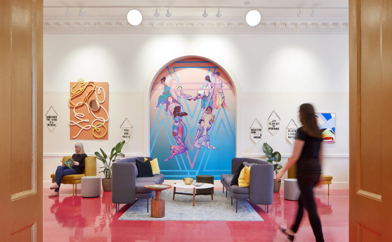 A Tour Of The Coven's Cool New Saint Paul Coworking Space