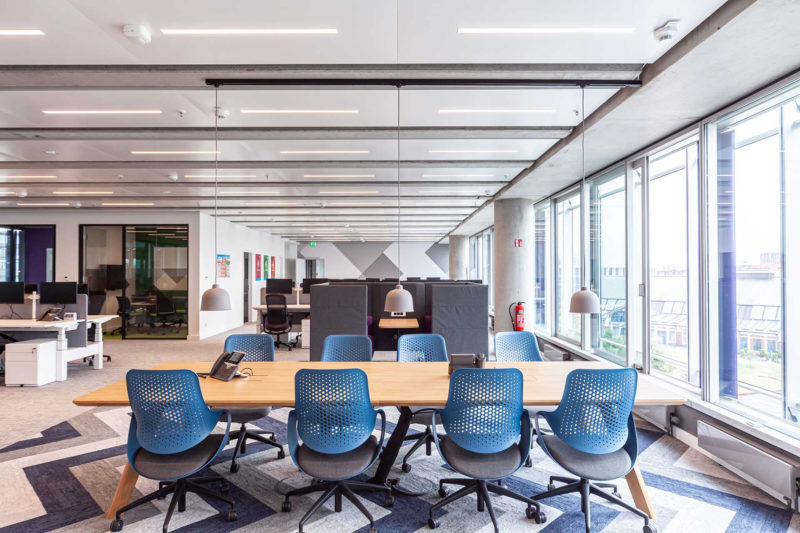 A Look Inside Blue Yonder's New Hamburg Office