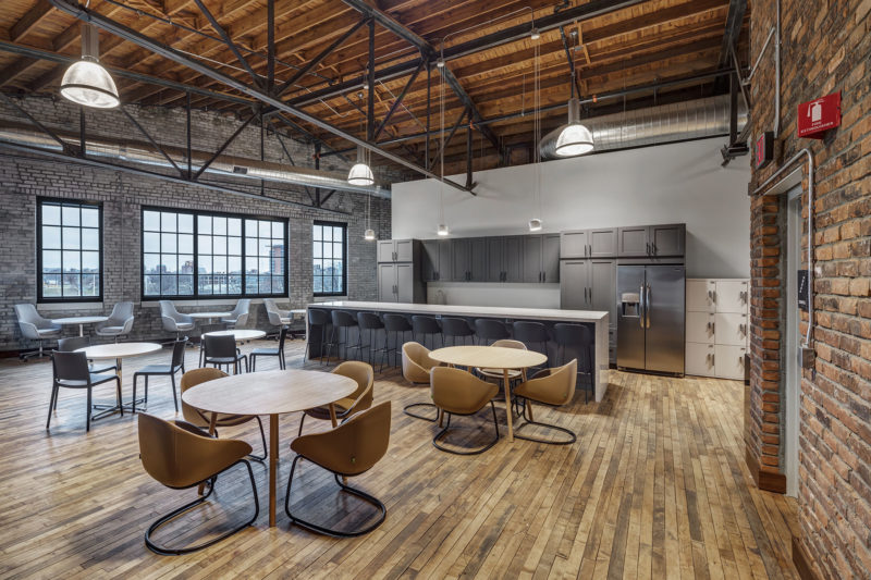 A Tour Of Ford Motors Company's Modern Detroit Office