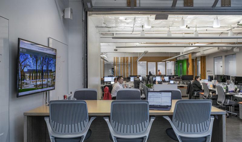 A Peek Inside Fortis Construction's Portland Office