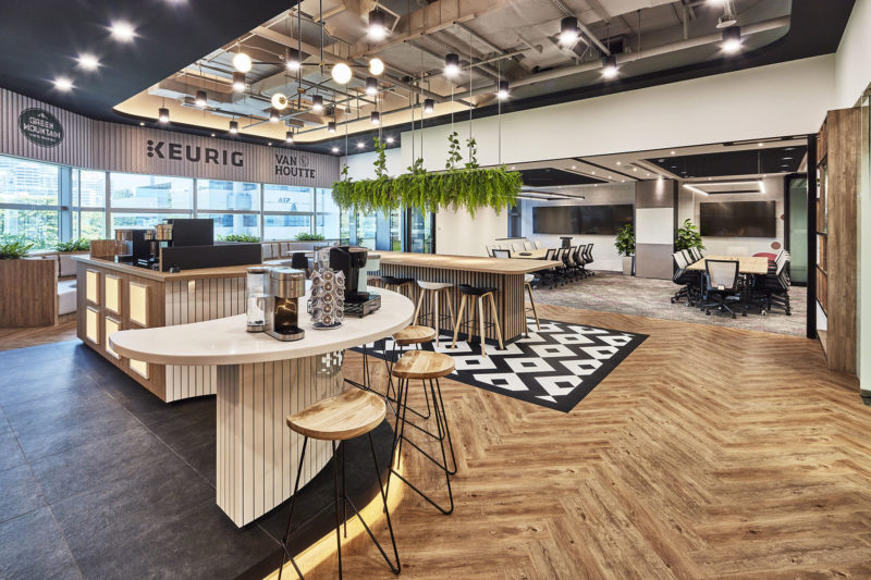 A Look Inside Keurig's New Singapore Office