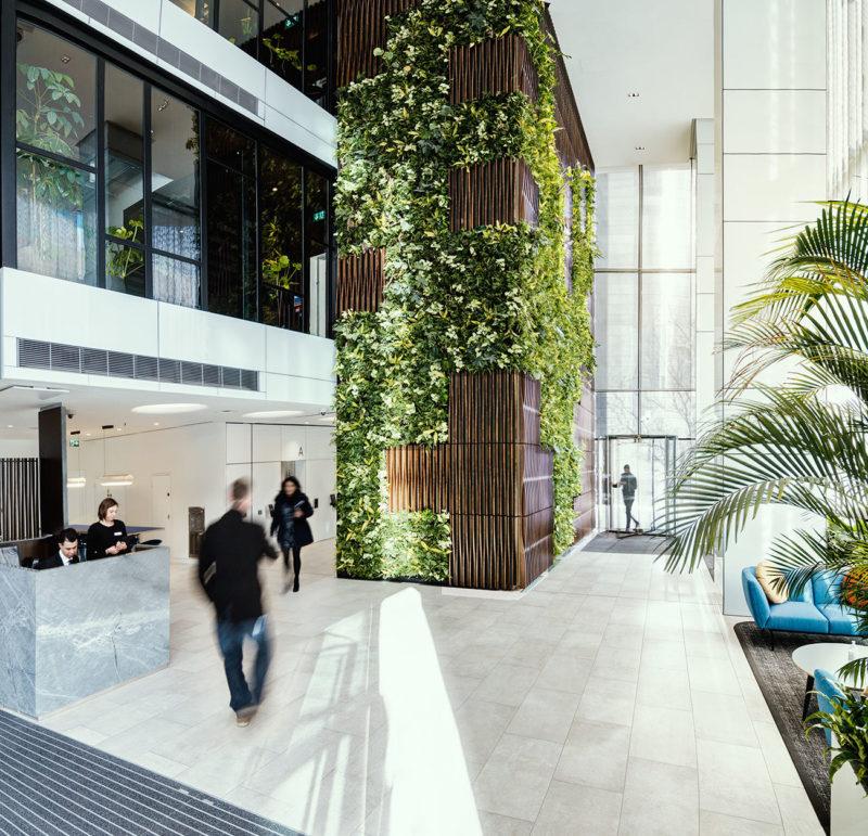 A Look Inside British Land's Modern New London Office