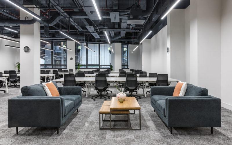 Inside Knotel's Modern New London Office