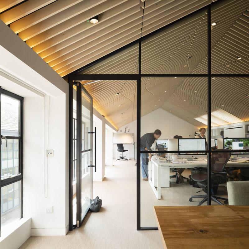 A Peek Inside Marcus Barnett Studio's Minimalist New London Office