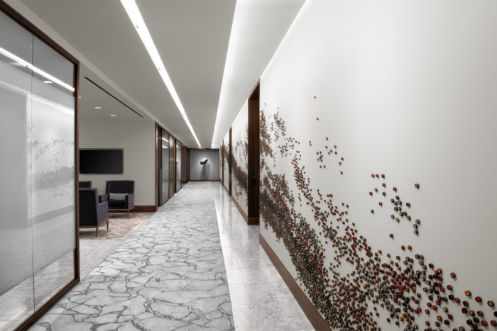 Newfield Exploration Executive Floor Offices – The Woodlands