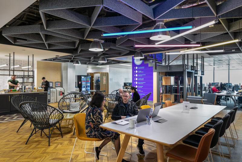 A Look Inside MoneySuperMarket's New Manchester Office