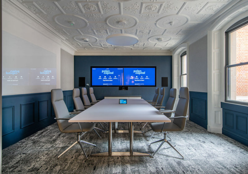 A Peek Inside Polen Capital's New London Office