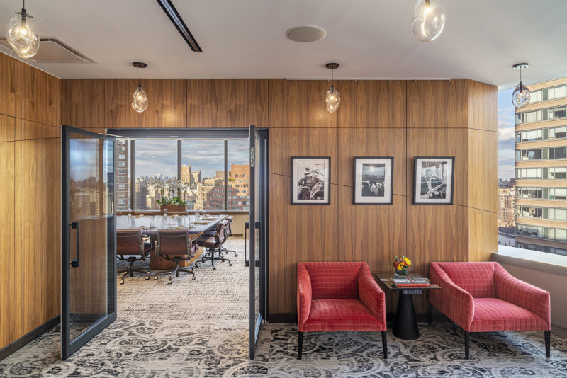 A Look Inside Tiger 21's Elegant New NYC Office