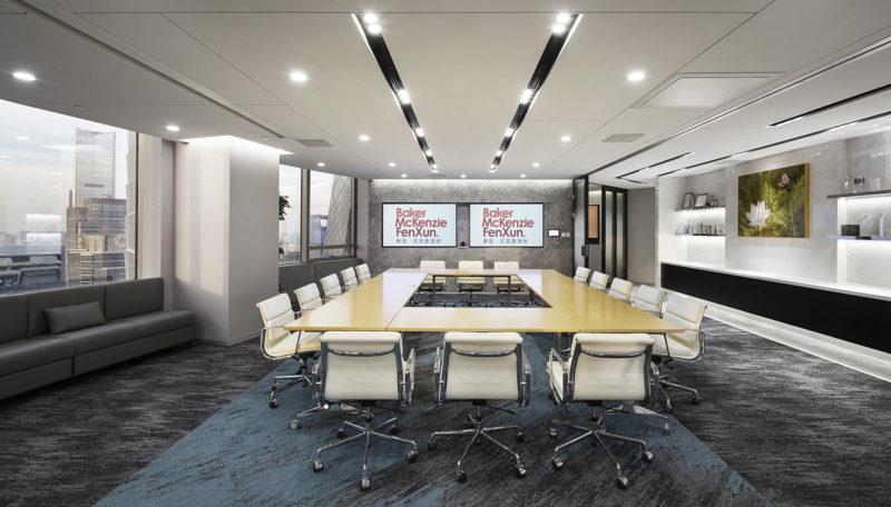A Peek Inside Baker McKenzie's Elegant Beijing Office