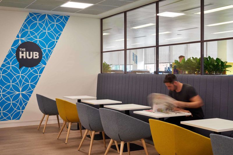 Inside Private Engineering Company Offices In Birmingham