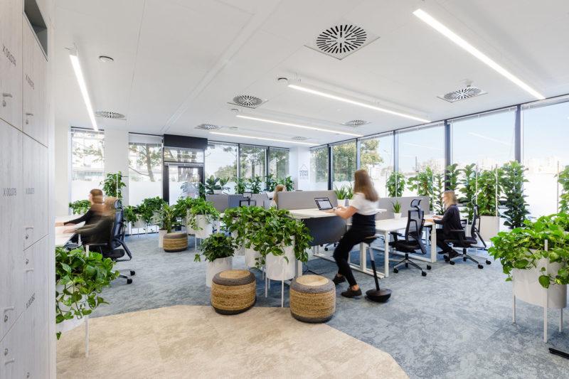A Look Inside Nordea's Biophilic Office In Gdynia