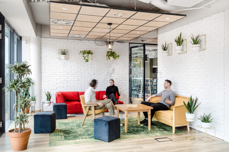 A Look Inside Nordea's Eco-Friendly Offices In Gdynia