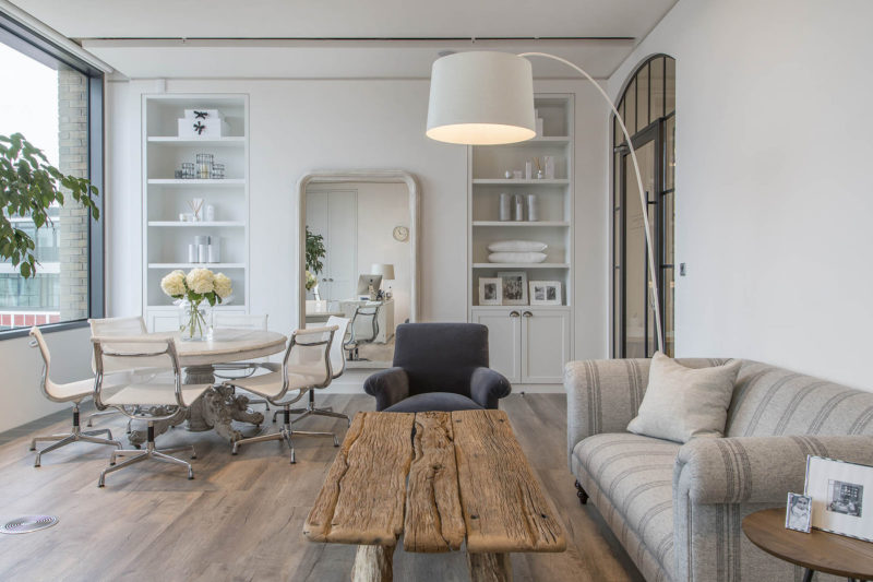 A Look Inside The White Company's Elegant London Office