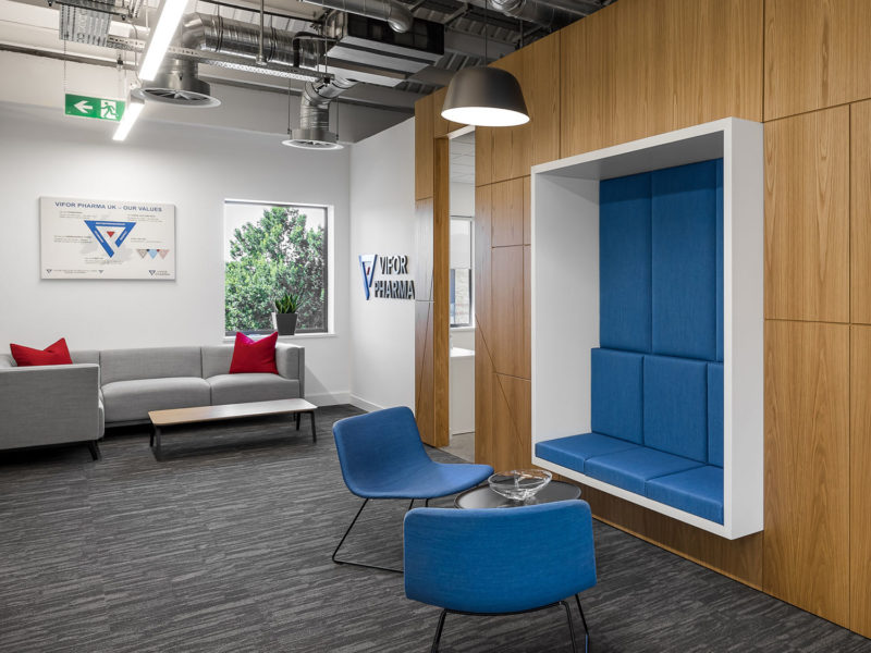 Inside Vifor Pharma's New Staines Upon Thames Office