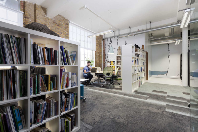 A Look Inside Friends Of The Earth's Eco-Friendly London Office