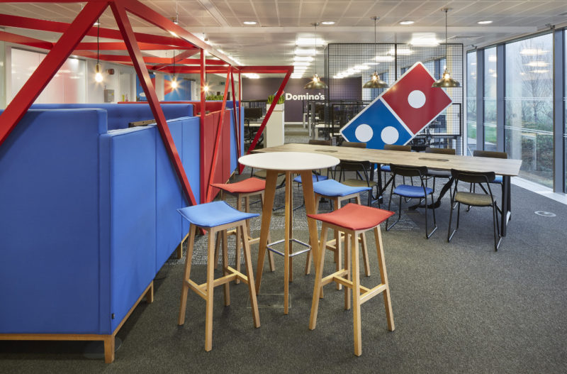 A Look Inside Domino's Pizza's Milton Keynes Office
